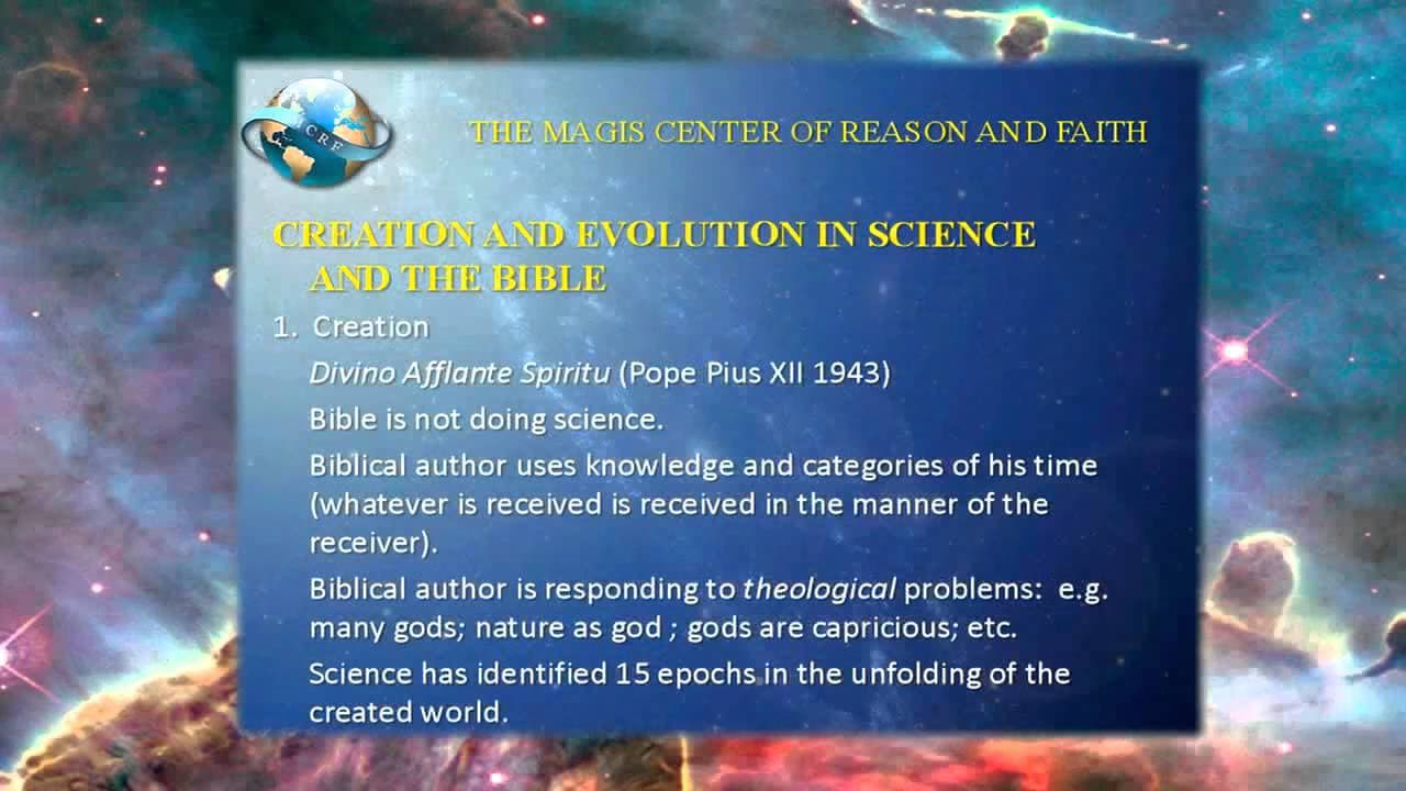 the creation of the world according to the bible Many of the world's the origins of the universe in christianity, the creation accounts are found in the first two chapters of the book of genesis in the bible.