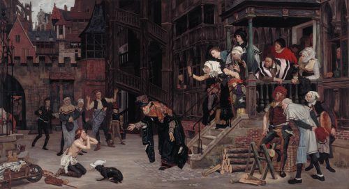 james tissot's painting of the prodigal son's return