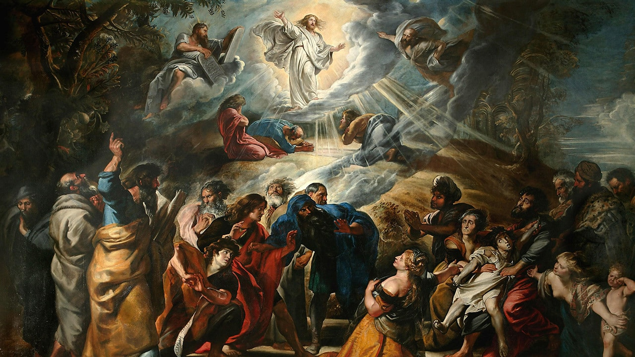 painting of the transfiguration